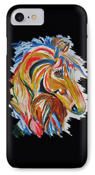 Horse IPhone Case by Art Spectrum