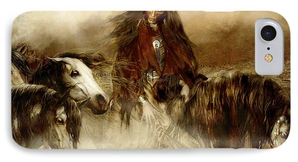 Horse Spirit Guides IPhone Case