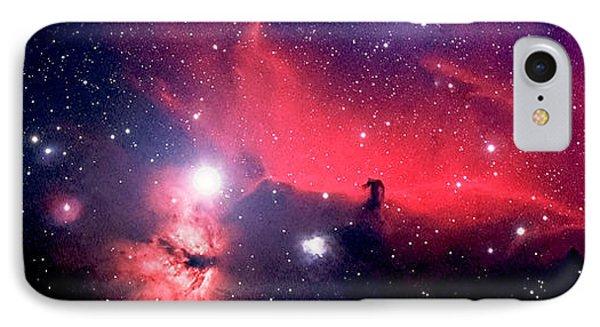 Horsehead Nebula Panorama Phone Case by Jim DeLillo