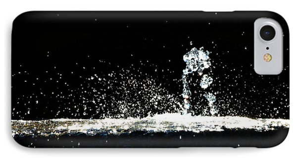 Horses And Men In Rain IPhone Case by Bob Orsillo