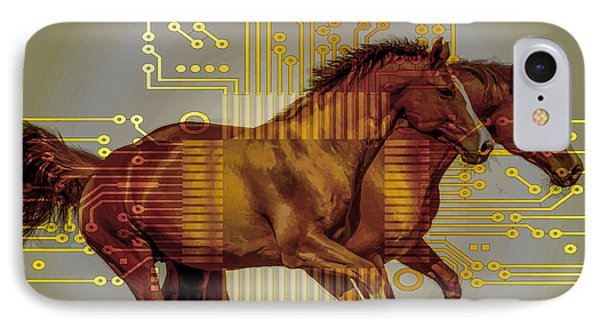 The Sound Of The Horses. IPhone Case