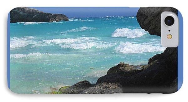 Horseshoe Bay Rocks IPhone Case by Ian  MacDonald