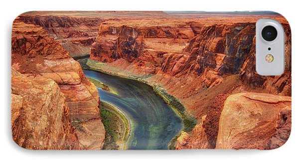 IPhone Case featuring the photograph Horseshoe Bend Arizona - Colorado River #2 by Jennifer Rondinelli Reilly - Fine Art Photography