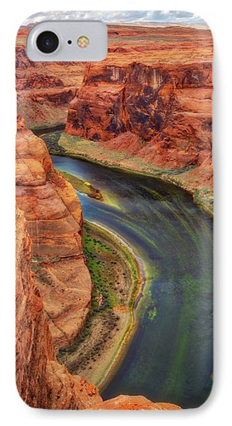IPhone Case featuring the photograph Horseshoe Bend Arizona - Colorado River #3 by Jennifer Rondinelli Reilly - Fine Art Photography