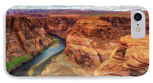 Horseshoe Bend Arizona - Colorado River $4 IPhone Case by Jennifer Rondinelli Reilly - Fine Art Photography
