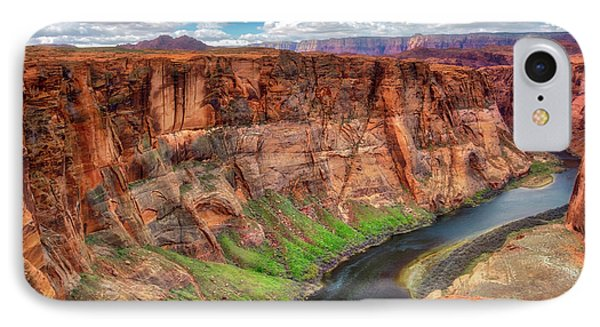 IPhone Case featuring the photograph Horseshoe Bend Arizona - Colorado River #5 by Jennifer Rondinelli Reilly - Fine Art Photography