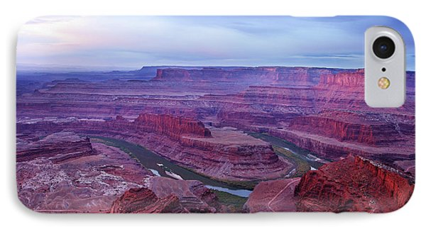 IPhone Case featuring the photograph Horseshoe Bend At Dawn by Marie Leslie