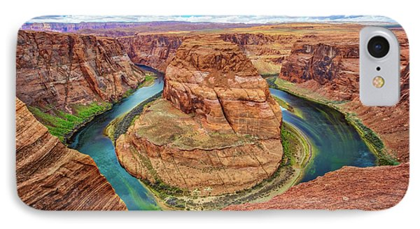 IPhone Case featuring the photograph Horseshoe Bend - Colorado River - Arizona by Jennifer Rondinelli Reilly - Fine Art Photography