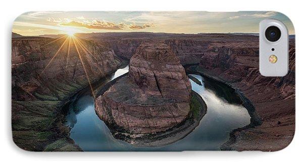 Horseshoe Bend Sunset IPhone Case by James Udall