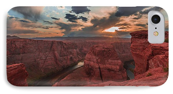 Horseshoe Bend Sunset IPhone Case by Tim Bryan