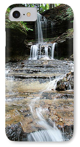 Horseshoe Falls #6735 IPhone Case by Mark J Seefeldt