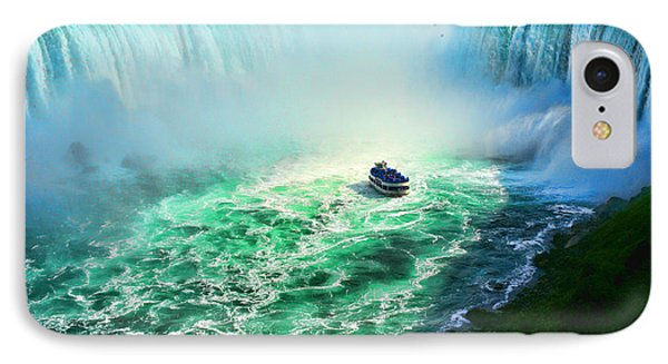 Horseshoe Falls Niagara IPhone Case by Lawrence Christopher