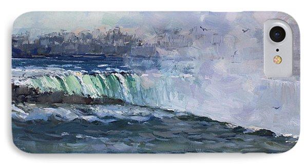 Horseshoe Falls IPhone Case by Ylli Haruni