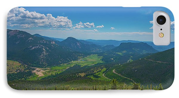 IPhone Case featuring the photograph Horseshoe Park From Rainbow Curve 1 by Tom Potter