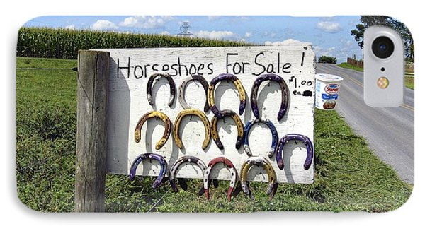 Horseshoes For Sale IPhone Case