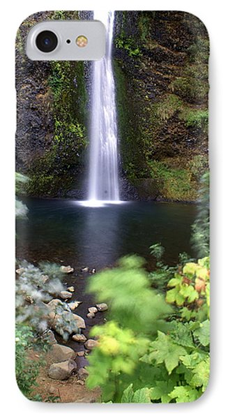 Horsetail Falls Basin Phone Case by Marty Koch