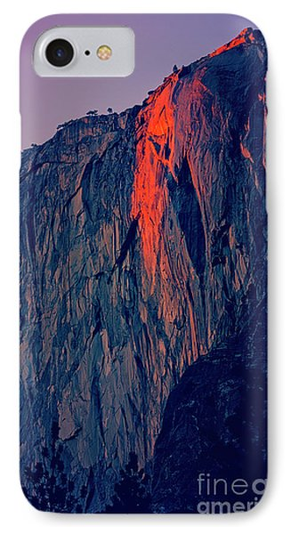Horsetail Falls Yosemite Phone Case by Jim And Emily Bush