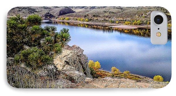 Horsetooth Autumn IPhone Case by Jon Burch Photography