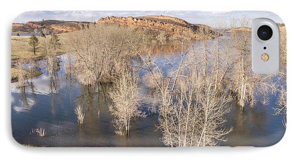 Horsetooth Reservoir Aerial Landscape IPhone Case by Marek Uliasz