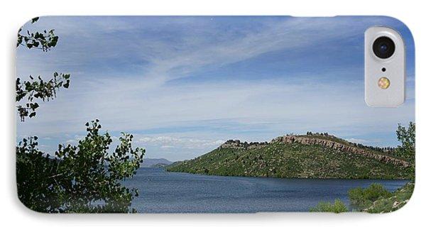 Horsetooth Reservoir IPhone Case