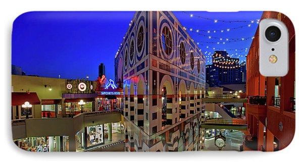Horton Plaza Shopping Center IPhone Case