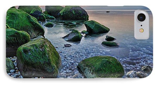 Horton Point Ny At Sunset IPhone Case by Rick Berk