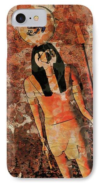 Horus, Egyptian God By Raphael Terra And Mary Bassett IPhone Case