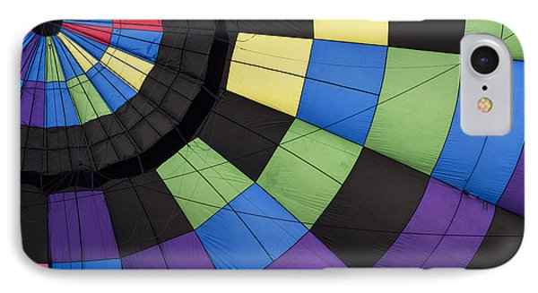 Hot Air Balloon Abstract IPhone Case by Juli Scalzi