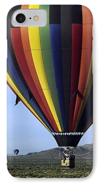 Hot Air Balloon  Phone Case by Sally Weigand
