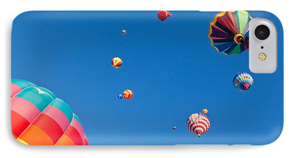 Hot Air Balloons 9 IPhone Case by Nicolas Raymond