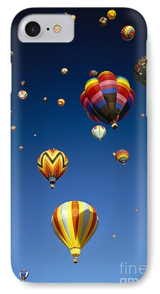 Hot Air Balloons Phone Case by Michael Howell - Printscapes