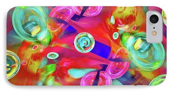 IPhone Case featuring the digital art Hot Candy by Menega Sabidussi