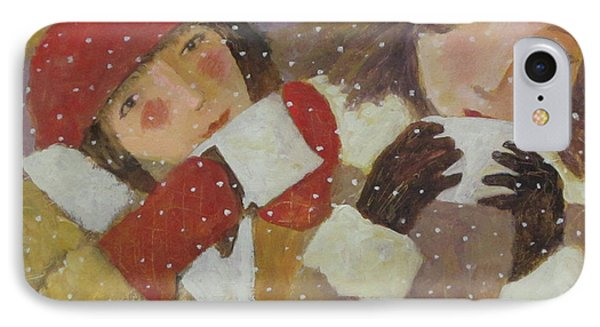IPhone Case featuring the painting Hot Chocolate by Glenn Quist
