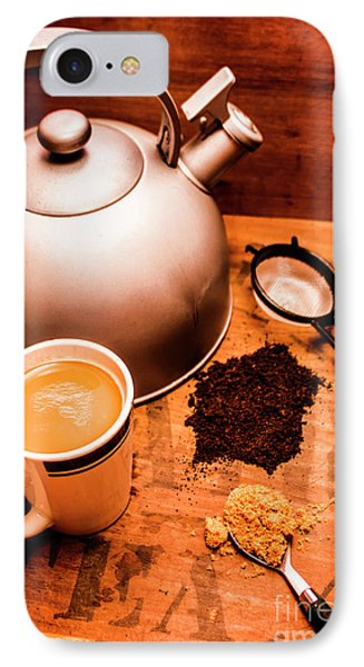 Hot Drink Details. Tea Print IPhone Case by Jorgo Photography - Wall Art Gallery