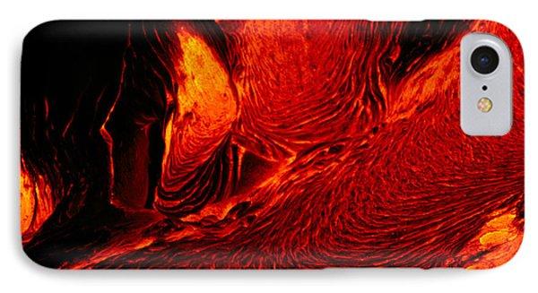 Hot Flowing Lava Phone Case by Bob Abraham - Printscapes