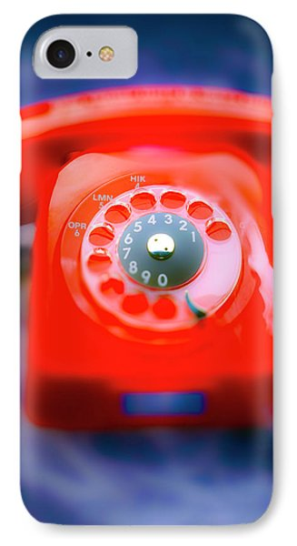 Hot Line IPhone Case by Jan W Faul