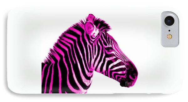 Hot Pink Zebra IPhone 7 Case
