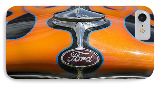 Ford 5 IPhone Case by Wendy Wilton