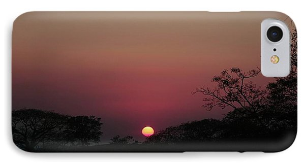 IPhone Case featuring the photograph Hot Tropical Sunset by Ellen Barron O'Reilly