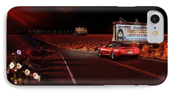 IPhone Case featuring the painting Hotel California by Michael Cleere