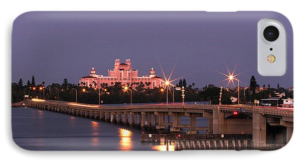 Hotel Don Cesar The Pink Palace St Petes Beach Florida IPhone Case