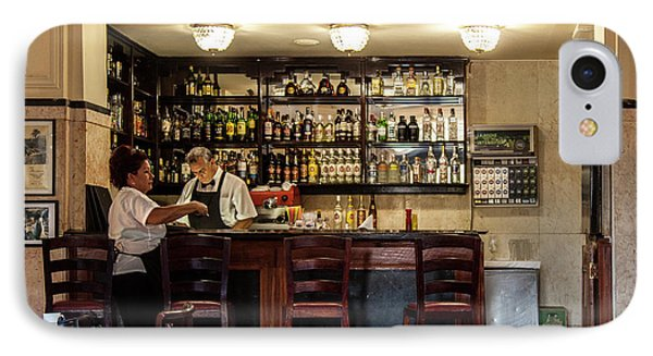 IPhone Case featuring the photograph Hotel Presidente Bar Havana Cuba by Charles Harden