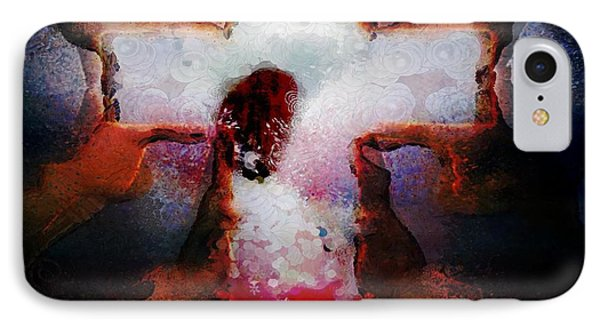 Hotty Totty Monkey Painted Angel Connected IPhone Case