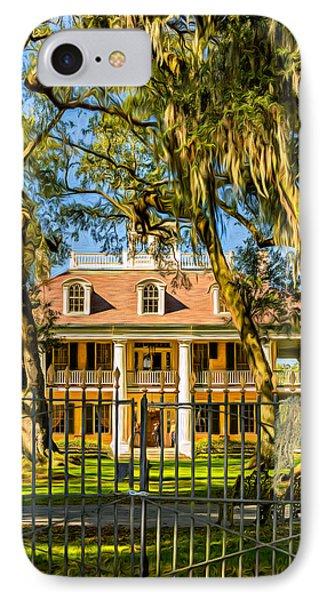 Houmas House Plantation 2 - Paint IPhone Case