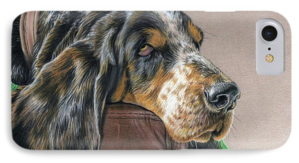 Hound Dog IPhone Case by Sarah Batalka
