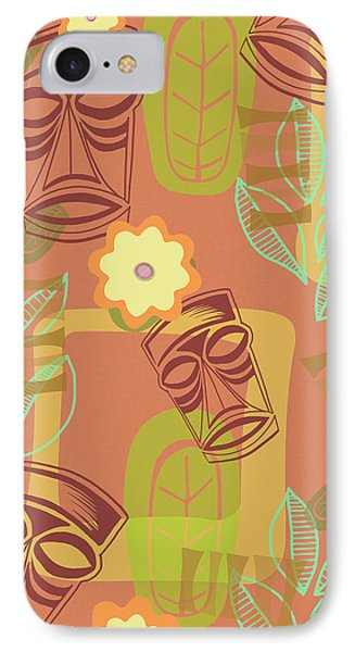 Hour At The Tiki Room IPhone Case by Little Bunny Sunshine
