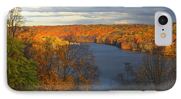 IPhone Case featuring the photograph Housatonic In Autumn by Karol Livote