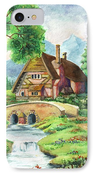 House Along The River IPhone Case