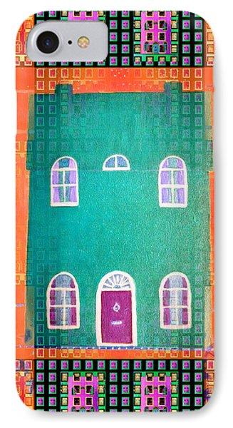 House IPhone Case by Barbara Moignard