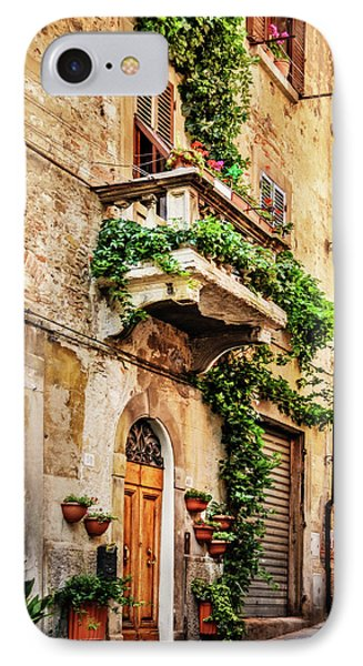 IPhone Case featuring the photograph House In Arezzoo, Italy by Marion McCristall